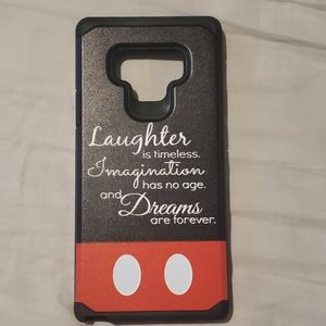NEW Walt Disney quote Mickey note 9 phone case